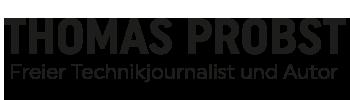 Thomas Probst – Freier Journalist und Autor